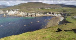 Achill Island Returning Beach