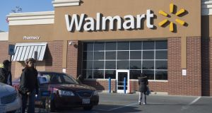 Walmart has notched more than three straight years of overall comparable sales growth. Photograph: Getty Images