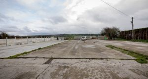 The site the McInerney's bought at Ballygriffin, Aglish, Co. Kilkenny. Photograph: Dylan Vaughan