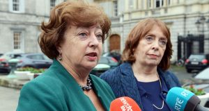 Social Democrat TDs Catherine Murphy and Róisín Shortall. Photograph: Eric Luke