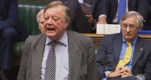 Ken Clarke, a staunch Europhile and supporter of the Remain campaign, said while the UK government had committed to not reinstating a fixed border, this would be the inevitable outcome of leaving both the customs union and single market. File photograph: PA Wire
