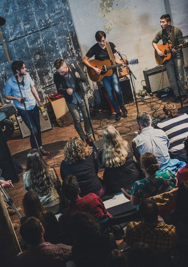 The Seattle Living Rooms concerts give you a chance to get up close and personal with music acts in unusual venues