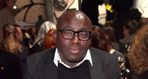 The new British Vogue, edited by Edward Enninful, its first male editor in its 101 year history, hit the newsstands  in a storm of publicity. Photograph: Jacopo Raule/Getty Images