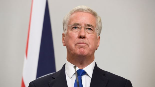 "Sir Michael Fallon: no longer regarded as ""safe pair of hands"". Photograph: Leon Neal"