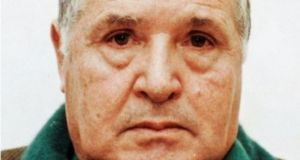 "Mafia boss Salvatore ""Toto"" Riina, after his arrest in 1993. Photograph: Marie-Laure Messana/AFP/Getty Images"