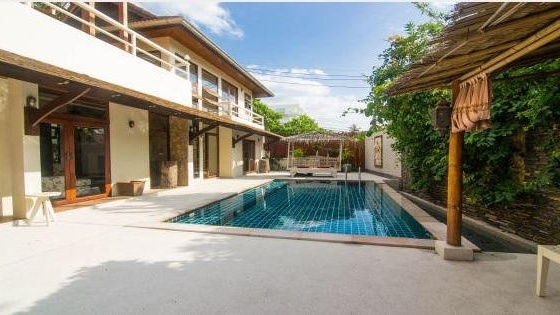 Three-bedroom house with a pool in Big Buddha, Koh Samui, Thailand