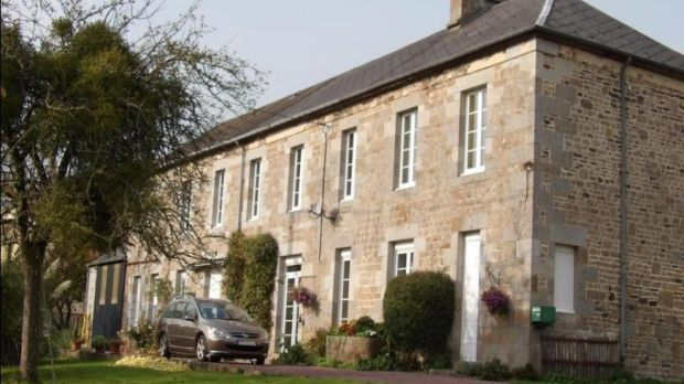 Partly renovated house in St Sever Calvados, Normandy, France