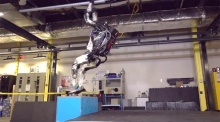 Stick the landing: humanoid robot shows off its backflipping skills