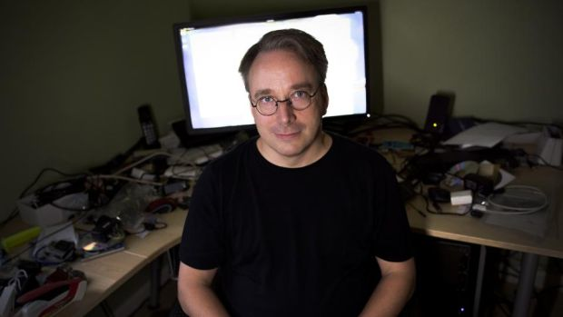 Linux: Linus Torvalds, the Finnish software engineer who created the Linux kernel. Photograph: Amanda Lucier/Washington Post via Getty