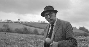 Patrick Kavanagh. Photograph:  The Wiltshire Collection,/National Library of Ireland.