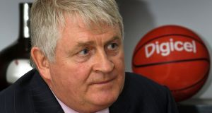 Denis O'Brien, whose Digicel mobile carrier business saw first-half earnings rise. Photograph: Swoan Parker / Reuters