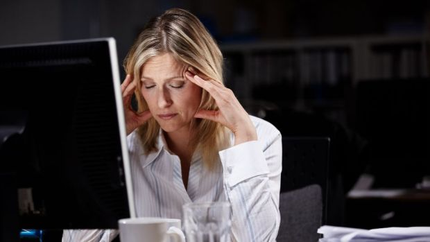 Research shows that over 80 per cent of workplace absences are now stress-related in some way. Photograph: Getty Images
