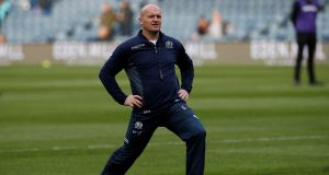 Scotland head coach Gregor Townsend has 14 players unavailable and has to convince the remainder that the All Blacks are beatable. Photograph: Craig Brough/Rueters