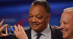 "Rev Jesse Jackson: ""For me, a Parkinson's diagnosis is not a stop sign but rather a signal that I must make lifestyle changes and dedicate myself to physical therapy in hopes of slowing the disease's progression."" File photograph: Paul J  Richards/AFP/Getty Images"