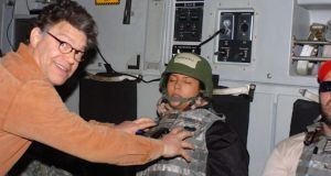 Al Franken: the senator apologised for groping the broadcaster Leeann Tweeden in 2006, on a military flight back from the Middle East, where they had been entertaining US troops