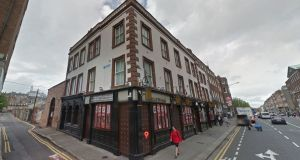 Planning permission to demolish Howl at the Moon nightclub (above) in Dublin 2 and build a 53-room hotel on the site has been overturned. File photograph: Google Street View