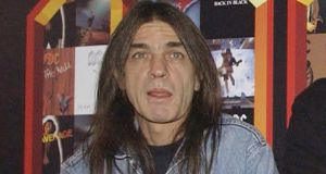 AC/DC co-founder and guitarist Malcolm Young in 2003. File photograph: Yui Mok/PA Wire