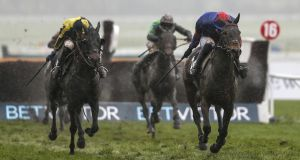 Splash Of Ginge took the BetVictor Gold Cup at Cheltenham. Photograph: Alan Crowhurst/Getty