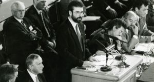 Gerry Adams: A career in pictures