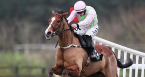 Faugheen romped to victory on his return from injury. Photograph: Brian Lawless/PA