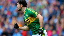 Kerry's Bryan Sheehan was one of the game's finest free takers. Photograph: James Crombie/Inpho