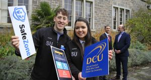 A new safety app is being made available to students and staff at Dublin City University. Photograph: Nick Bradshaw