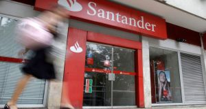In June last year, Santander Consumer's parent, Santander Holdings USA, became  the first bank to fail the stress test carried out by the Federal Reserve three years in a row. Photograph: Sergio Moraes/Reuters