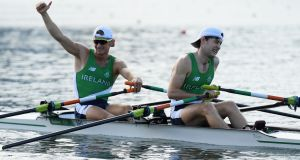 Gary O'Donovan  and Paul O'Donovan: the two set the same time for 6km as a heavyweight four created from Shandon and St Michael's rowers