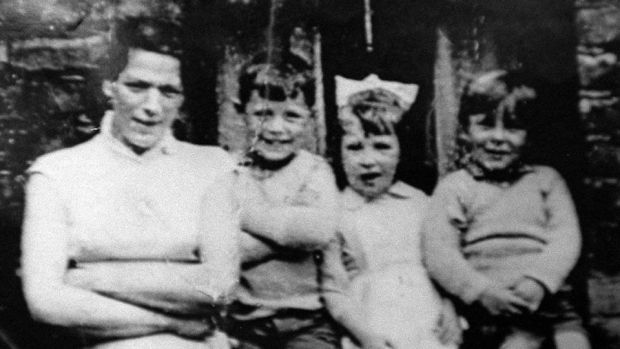 IRA victim: Jean McConville with three of her children. Photograph: PA Wire