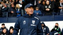 West Brom manager  Tony Pulis during Saturday's  match  against Chelsea at The Hawthorns.  West Brom lost 4-0. Photograph:   Catherine Ivill/Getty Images