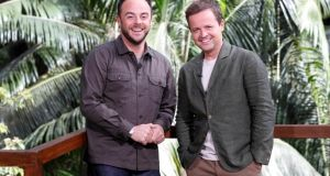 Dec reads the script as if it was meant for Ant's rumoured substitute Holly Willoughby