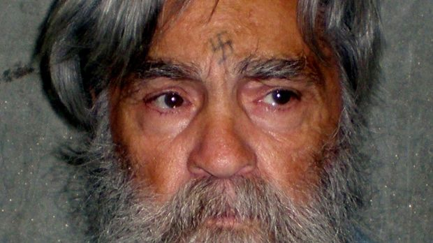 Charles Manson is shown in this handout picture from the California Department of Corrections and Rehabilitation dated June 16th, 2011 and released to Reuters April 8th, 2012. File photograph: Reuters