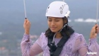 Vanessa White conquers her fears on 'I'm a Celebrity'