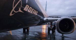 The order is  worth almost €9.3bn at list prices, says Boeing. Photograph: Matt Mills McKnight/Reuters