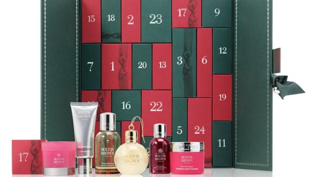 Molton Brown Cabinet of Scented Luxuries Advent Calendar (€198 from Arnotts)