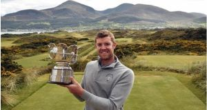 Peter O'Keeffe from Douglas  will defend his Irish Amateur Open Strokeplay title at Royal Co Down in May 2018.