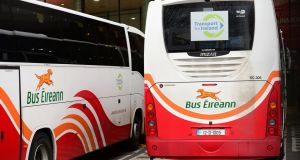 Bus Éireann is seeking cost-reduction measures in an attempt to tackle losses of some €9.4m annually. Photograph: Dara Mac Dónaill/The Irish Times