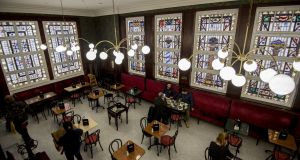 Recently reopened Bewley's on Grafton Street, Dublin. Photograph: Brenda Fitzsimons