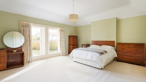 One of the five bedrooms at Claremount, Claremont Road, Carrickmines, Dublin 18
