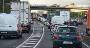 Traffic on Dublin's M50. File photograph: Alan Betson