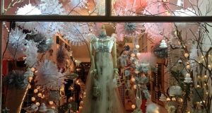 Christmas window displays have become increasingly lavish