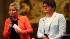 May: 'Small differences' delaying power-sharing in Northern Ireland
