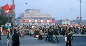 Mayday parade in Moscow in 1980, one of the photos from Marco Carnovale's new blog