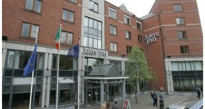 Jurys Inn was originally set up as part of the old Jurys Doyle stock-market listed company. Photograph: Alan Betson