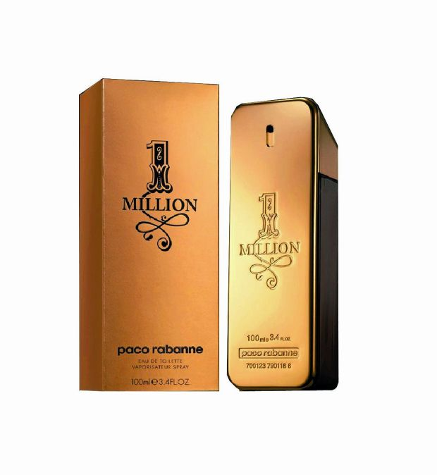 Paco Rabanne 1 Million, €100ml, €68, The Perfume Shop.