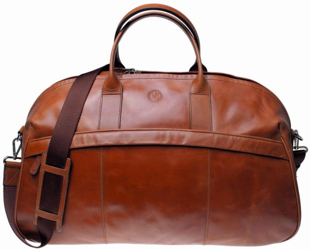 Saddler Bollinder weekend bag, €299.95, Avoca.