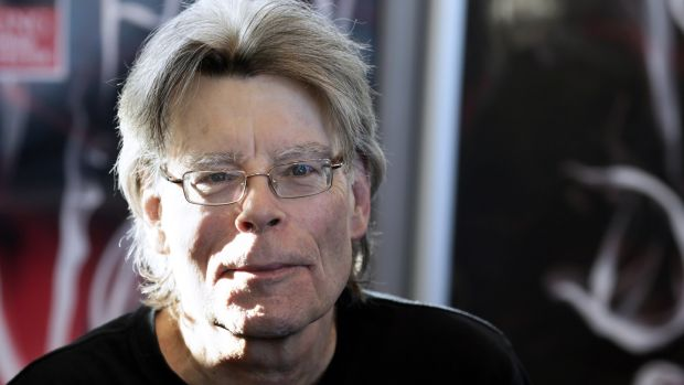 American author Stephen King. Photograph: Kenzo Tribouillard/AFP/Getty Images