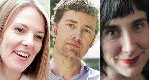 Costa shortlisted: Sarah Crossan, Karl Geary, Sinéad Morrissey