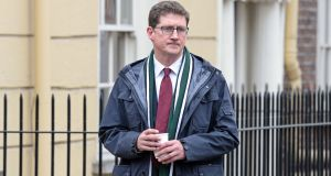 "Green Party leader Eamon Ryan: ""The judgment recognises, for the first time, that there is a constitutional right to an environment that is consistent with the human dignity and wellbeing of citizens at large."" Photograph: Eric Luke"