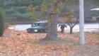 North Korean soldier's daring escape over DMZ caught on video